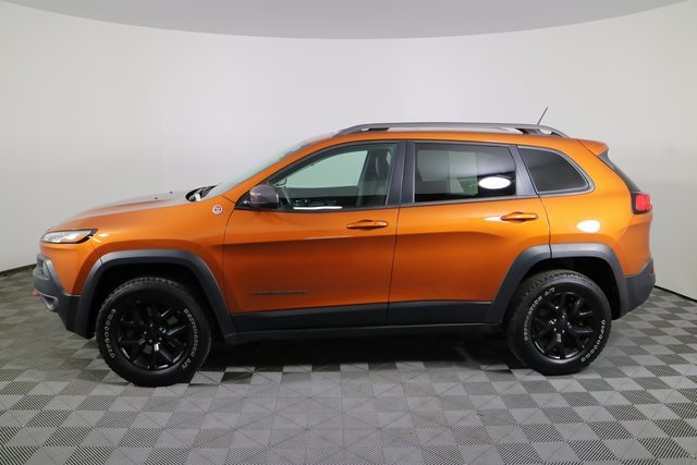 Preowned 2014 Jeep Cherokee Trailhawk 4d Sport Utility In Burns